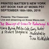 Printed Matter's NYABF Presents : The Drawings of Susan Te Kahurangi King - September 17th, 2016