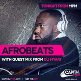 Afrobeats on Capital XTRA - Sat 22nd April 2017: Guest mix from DJ Nyari - Zimbabwe 37 Independence