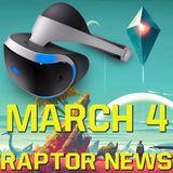 No Man's Sky for confirmed for PlayStation VR? - Raptor News March 4