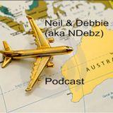 Neil & Debbie aka NDebz Podcast #42 - Plane talking