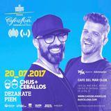 Chus & Ceballos - Live @ Cafe del Mar Club (Barcelona, ES) - 20.07.2017