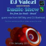 MR TIKKY guest mix for DJ VALOZI and friends Innersence radio 17-01-15 live Brazil \o/