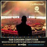 RAM Sundown DJ Competition DJ Cronicz