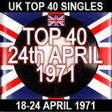 UK TOP 40: 18-24 APRIL 1971