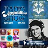 DEEPINSIDE RADIO SHOW 155 (Aldo Bergamasco Artist of the week)
