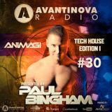 AVANTINOVA RADIO #30 - TECH HOUSE SPECIAL