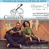 Seara de poezie,muzica  si reflecții cu CANTELLION-Cluj Napoca