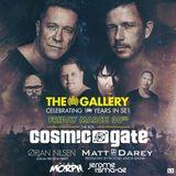 Cosmic Gate, Matt Darey, Orjan Nilsen, Jerome Isma-Ae, Alex M.O.R.P.H. - The Gallery (2018-03-24)
