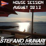 HOUSE SET - AUGUST 2013 - DJ STEFANO MUNARI