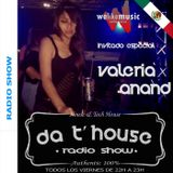 Techno 2015 Da T' House Radio Show Special Guest 04 - Valeria Anand