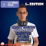 Joan Barrera DJ @ Crazy Sounds Radio Show 5 @LaSeniaRadio