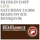 LIVE IN REYKJAVIK - 4TH SEPTEMBER 2016 - BEARS ON ICE