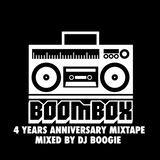 DJ BOOGIE - BOOMBOX 4 YEARS ANNIVERSARY MIXTAPE