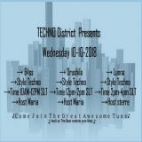Techno District 10-10-2018 [INCLUSIVE DOWNLOAD NOW 13/10/2018]