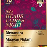 NoHeads Ladies Night with Alexandra & Maayan Nidam @ Culture Beat - 10.03.2012