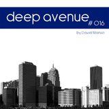016 - David manso - Deep Avenue