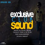 Exclusive Club Sound Podcast 036 with Álvaro Albarrán