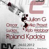 Dj Crecer - Technology 2 (24.2.2012) @ Club Dejavu Kosice