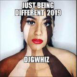 Just Being Different 2019 Dj GWhiz