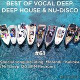 Best Of Vocal Deep, Deep House & Nu-Disco #61 - 05/08/2019