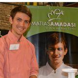 Matias Amadasi Embajador de Paz / en Clásico Sábado 104,1 La Radio del Eco