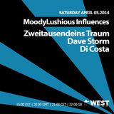 MoodyLushious Influences Episode 36 (April 2014 Edition) (Exclusive Guest Mix By Dave Storm)
