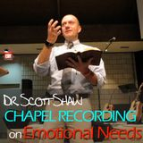 Dr. Scott Shaw on Emotional Integrity - 10/13/15