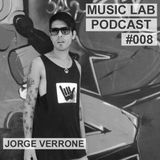 Music Lab Podcast | Jorge Verrone| #008