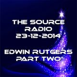 The Source Radio Edwin Rutgers 23-12-2014 part two