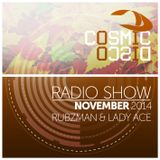 Cosmic Disco Radioshow - NOVEMBER 2014