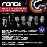 Bryan Kearney & Jordan Suckley  - Live At RONG, Venus (Manchester, UK) - 30-Jan-2015