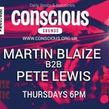 m.blaize and pete lewis live 30.3.2017 on conscious.org.uk