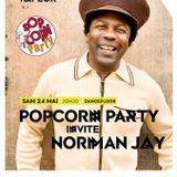 PopCorn Party Invite Norman Jay à la Vapeur de Dijon