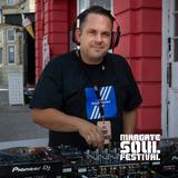 Matthew B in the mix showcasing the Margate Soul Festival original Fort Hill Carnival Corner ViBe