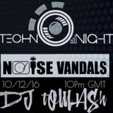 10/12/16 Dj tOMASh Live mix for Noise Vandals