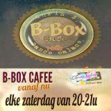 dj chris b / elke zaterdag 20.00 tot 21.00 b-box cafe LIVE OP ABITUNES DANCE RADIO