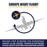 Europe Night Flight 15.03.2018