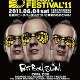 Fatboy Slim Live @ Big Beach Festival,Tokyo (06.04.2011)