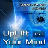 Free Will - UpLift Your Mind 151 (2013-12-10)