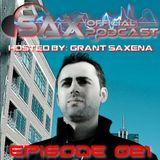 DJ Sax (Official) Podcast: Episode 021 - Live @ Digital Ruckus 014 Release