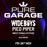 James Wilson @ Pure Garage - Lightbox Live