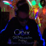 Dj QBIX LIVE @247House.fm DJK#231Pt.2 Techno Nov 6-2015.