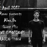 RAVE EMOTIONS RADIO SHOW (13RaVeR) - 19.04.2017. Alex.Do Guest Mix @ RAVE EMOTIONS