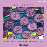 DJ APPIE Mix for FAKEDISCO 3rd Anniversary