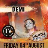 Demi @ Guaba Beach Bar Immature Veterans IV 04.08.17