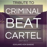 "05.01.13 - Edouard Von Shaeke presents ""Tribute to Criminal Beat cartel"" - Colmar - FR"