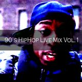 90's HipHop Live Mix Vol.1