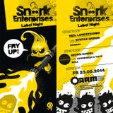 Neil Landstrumm @ Snork Enterprises Label Night - ARM Kassel - 23.05.2014