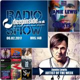 DEEPINSIDE RADIO SHOW 148 (Jamie Lewis Artist of the week)