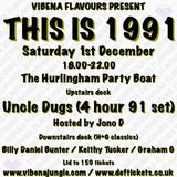 Uncle Dugs Vibena Flavours 'THIS IS 1991' Promo Mix